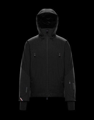 BODEN Black Ski jackets Man