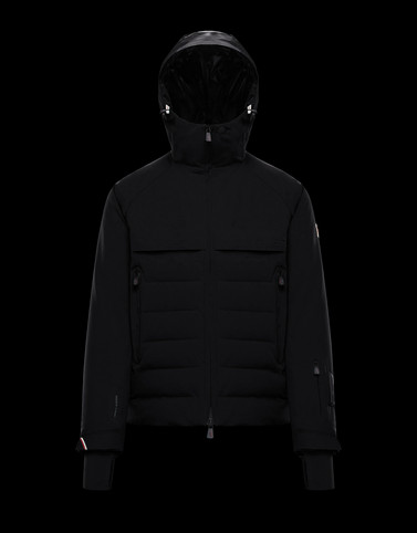 ACHENSEE Black Grenoble Jackets and Down Jackets Man