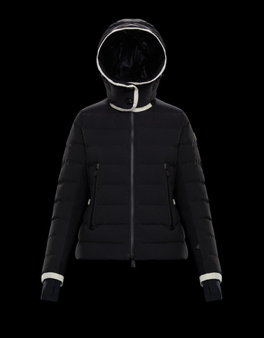 LAMOURA Black Ski jackets Woman