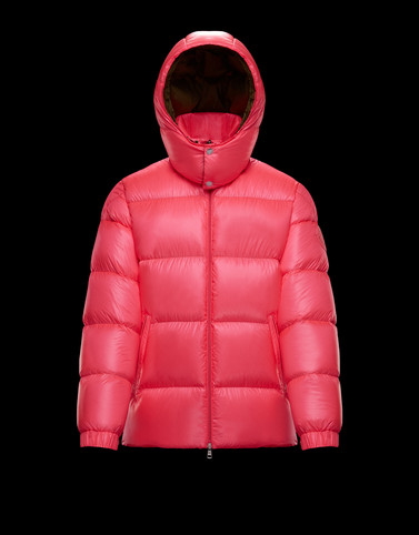 ENCELADUS Bright pink Down Jackets Man