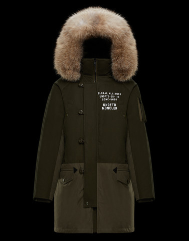 FENDORF Military green 2 Moncler 1952 Man