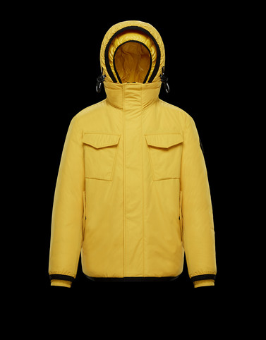 ONDRES Yellow Down Jackets Man