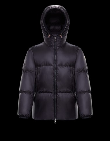 GLEB Dark blue Down Jackets Man