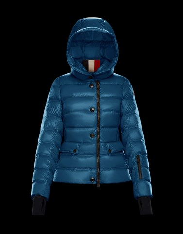 ARMONIQUE Slate blue Ski jackets Woman
