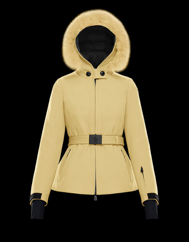 BAUGES Ochre Jackets & Parkas Woman