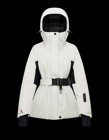 PAQUIER White Ski jackets Woman