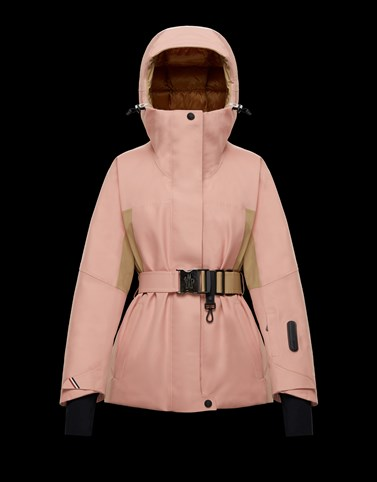 PAQUIER Blush Pink Category Ski jackets Woman