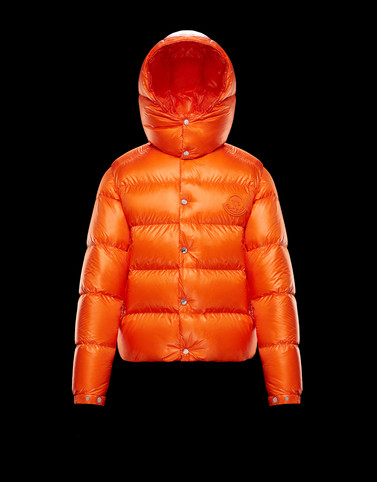TARNOS Orange Down Jackets Man