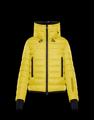 VONNE Yellow Ski jackets Woman