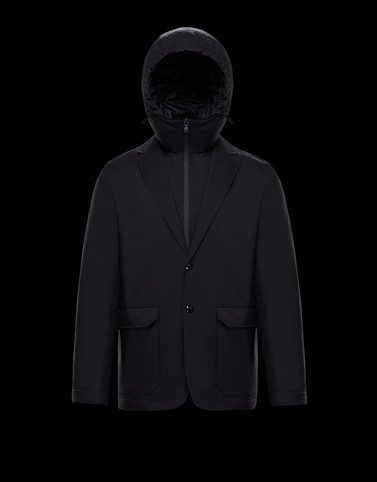 GOODSIR Black Category Short outerwear Man