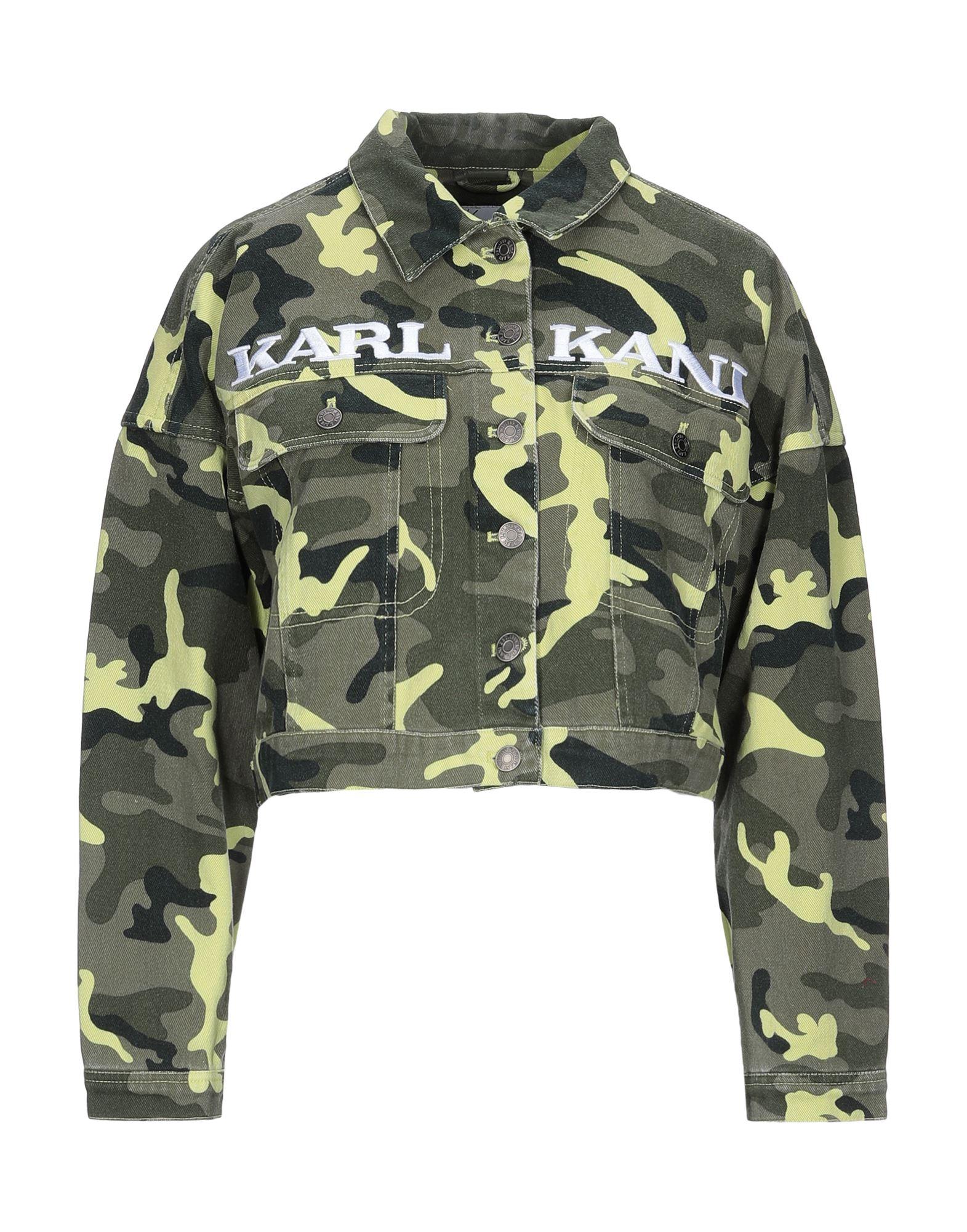 KANI Джинсовая верхняя одежда lardini джинсовая верхняя одежда