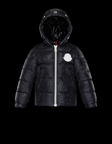 ALGER Black Category Short outerwear Man