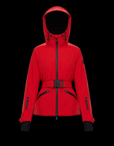SURIER Red Ski jackets Woman
