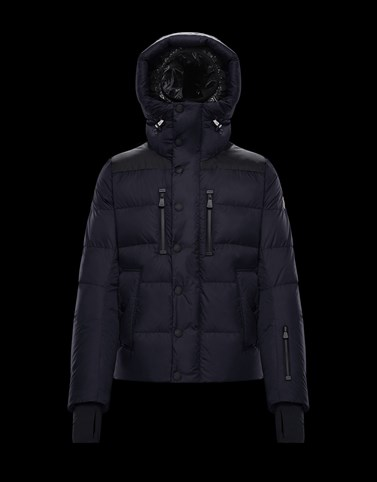 RODENBERG Dark blue Grenoble Jackets and Down Jackets Man