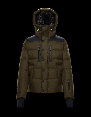 RODENBERG Military green Grenoble Jackets and Down Jackets Man