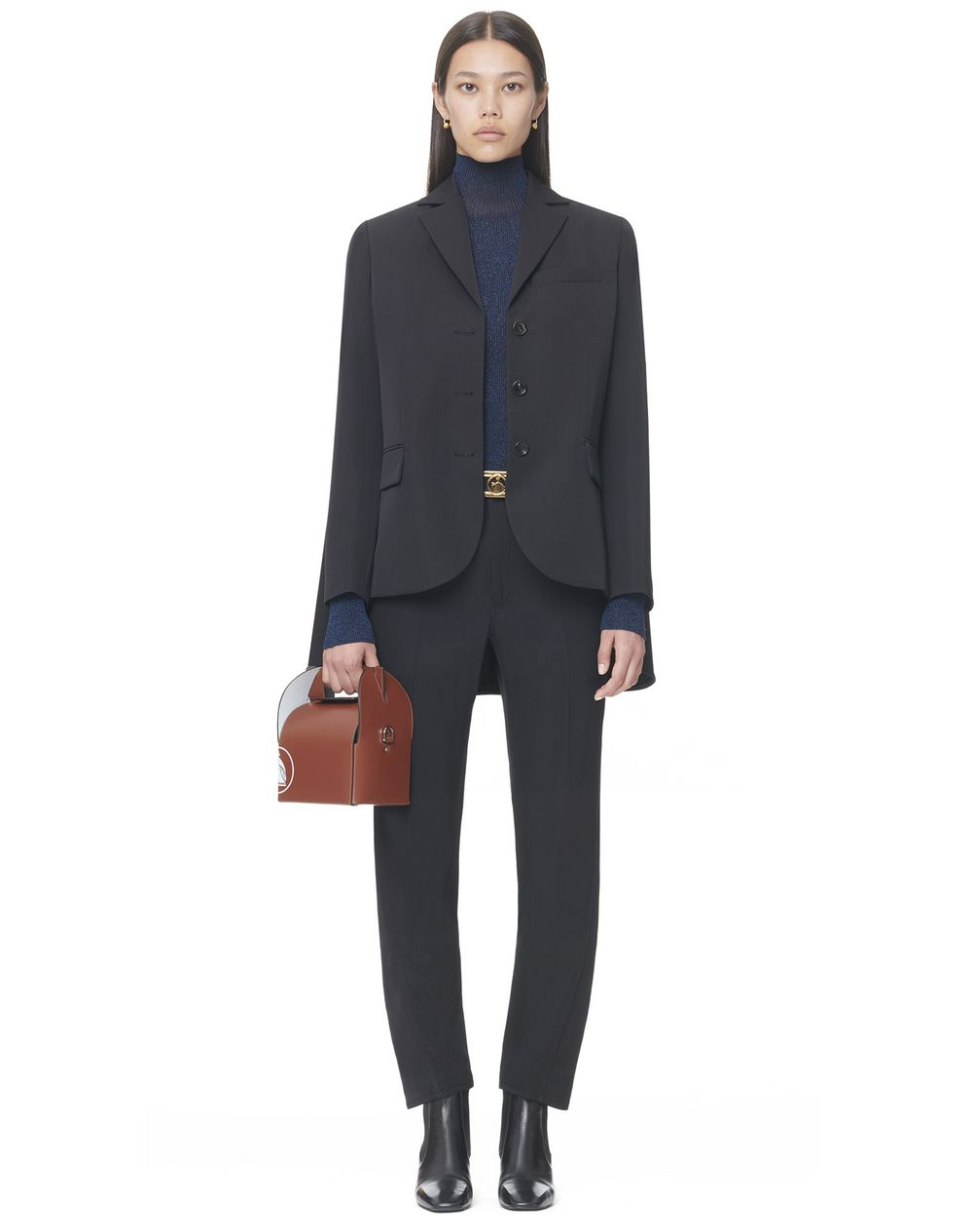 Tailored jacket with cape back - Lanvin