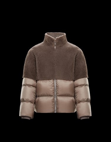 COYOTE Light grey Moncler Rick Owens Woman