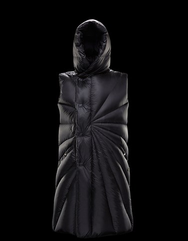PORTERVILLE Negro Moncler Rick Owens Mujer