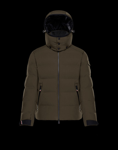 MONTGETECH ミリタリーグリーン Grenoble Jackets and Down Jackets メンズ