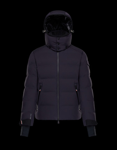 MONTGETECH Dark blue Grenoble Jackets and Down Jackets Man