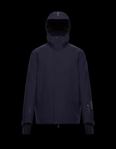 SIZAN Dark blue Ski jackets Man