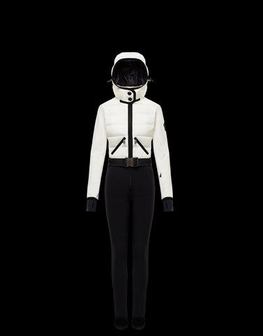 TRACKSUIT Ivory Grenoble Ski Suits Woman