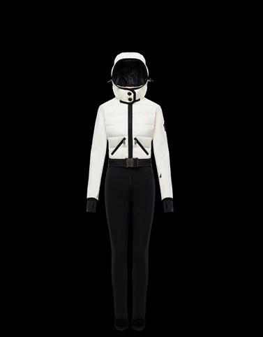 SKI SUIT Ivory Grenoble Ski Suits Woman