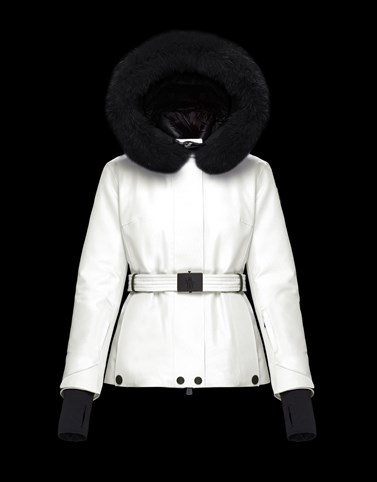 LAPLANCE White Ski jackets Woman