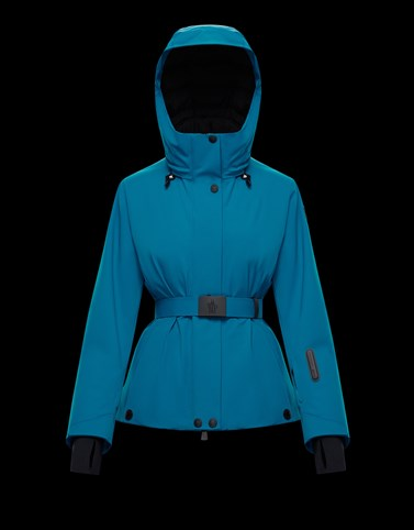 LIGNAN Turquoise Category Ski jackets Woman