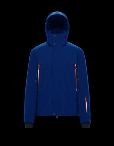 MILLER Blue Ski jackets Man
