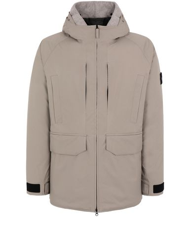 STONE ISLAND 40230 RIPSTOP GORE-TEX PRODUCT TECHNOLOGY DOWN Jacket Man Mud USD 1403