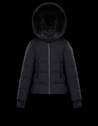 LAMOURA Black Category Parka Woman