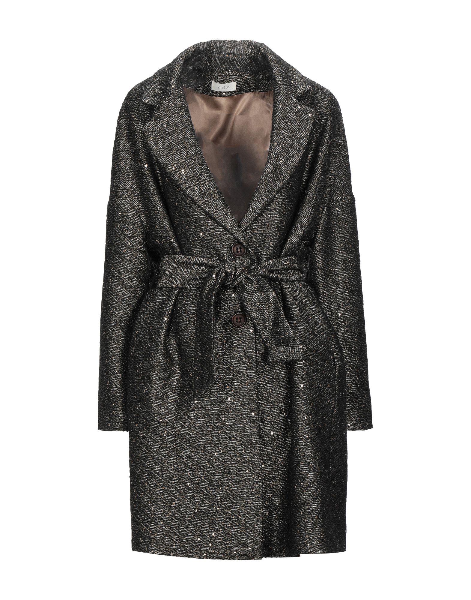 ZHELDA Пальто zhelda длинное платье