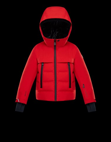 ACHENSEE Red Category Short outerwear Man