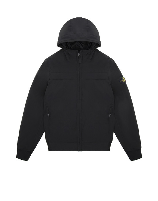 Jacket Man 40531 SOFT SHELL-R WITH PRIMALOFT® INSULATION TECHNOLOGY. Front STONE ISLAND TEEN