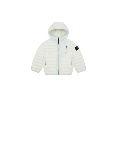 STONE ISLAND BABY 40132 LOOM WOVEN DOWN CHAMBERS STRETCH NYLON-TC Jacket Man Aqua EUR 385