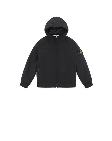 STONE ISLAND KIDS 40531 SOFT SHELL-R WITH PRIMALOFT® INSULATION TECHNOLOGY.  Jacket Man Black EUR 243