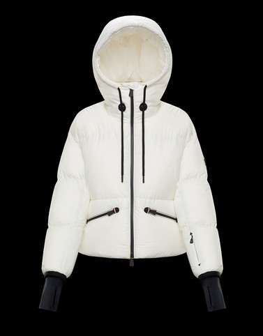 ALLESAZ White Ski jackets Woman