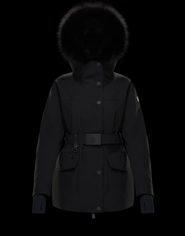 SINGLIN Black Jackets & Parkas Woman