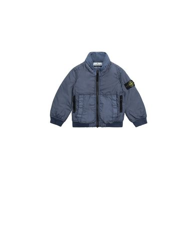 STONE ISLAND BABY 40833 GARMENT DYED CRINKLE REPS NY - PRIMALOFT 캐주얼 재킷 남성 아비오 블루 KRW 408870