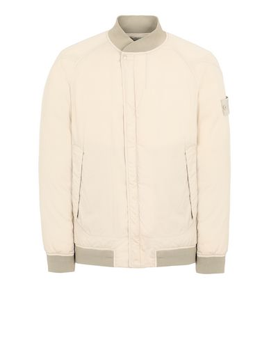STONE ISLAND 439F2 STRETCH WOOL NYLON-TC DOWN_GHOST PIECE Blouson Homme Beige EUR 915