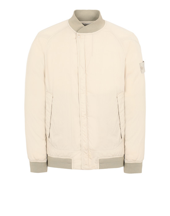 STONE ISLAND 439F2 STRETCH WOOL NYLON-TC DOWN_GHOST PIECE Jacket Man Beige