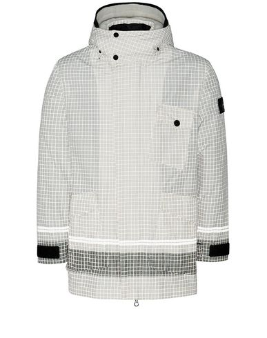 STONE ISLAND 43499 REFLECTIVE RIPSTOP CHINÉ_DETACHABLE LINING Jacket Man Butter EUR 1106