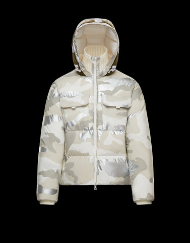 GRANERO White Down Jackets Man