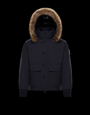 CAVELL Dark blue View all Outerwear Man