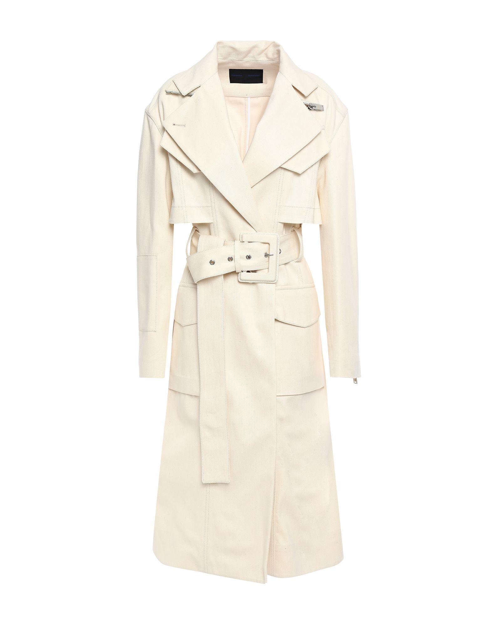 PROENZA SCHOULER Пальто proenza schouler двубортное пальто