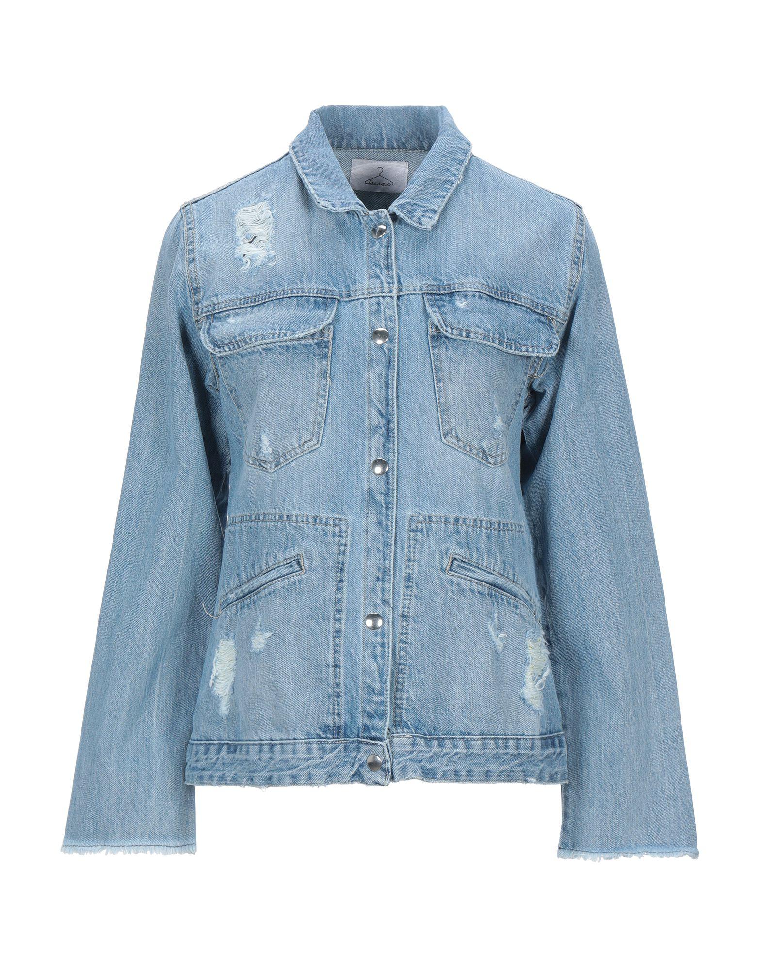 BERNA Джинсовая верхняя одежда merci джинсовая верхняя одежда