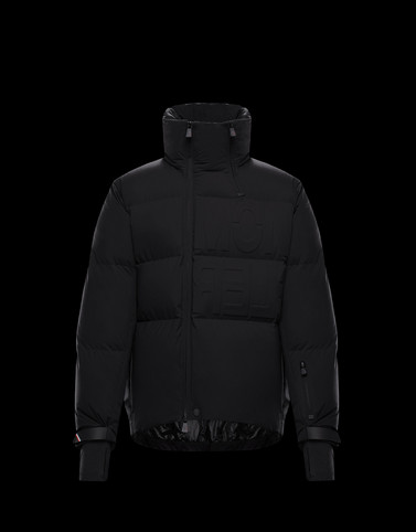 ARVIER Black Grenoble Jackets and Down Jackets Man