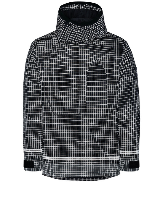 STONE ISLAND 43399 REFLECTIVE RIPSTOP CHINÉ WITH PRIMALOFT® INSULATION TECHNOLOGY Chaquetón Hombre Negro