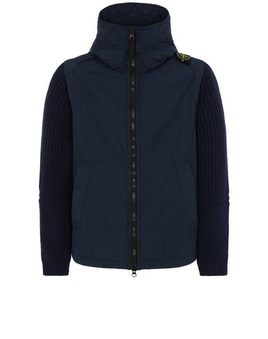 STONE ISLAND 43732 NASLAN LIGHT WATRO WITH PRIMALOFT®-TC Jacket Man Marine Blue USD 854